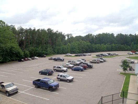 The parking lot (snailpacetransformations.com)