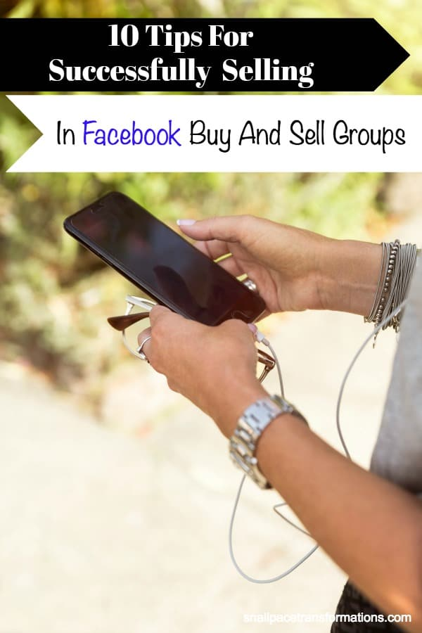 Buy and sell groups on Facebook are a great way to earn money from your clutter. #extramoney #makemoney