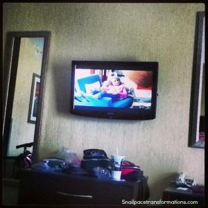 tv at hotel
