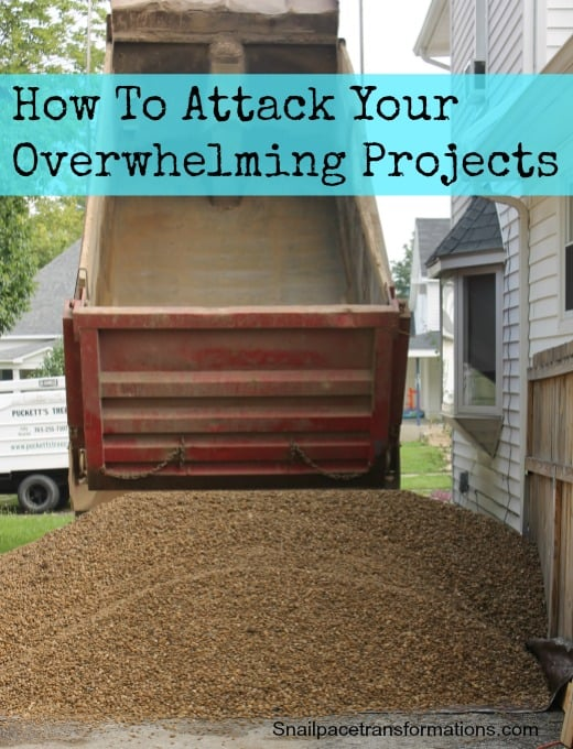 How To Attack Your Overwhelming projects