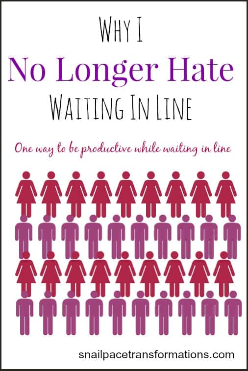 Why I no longer hate waiting in line
