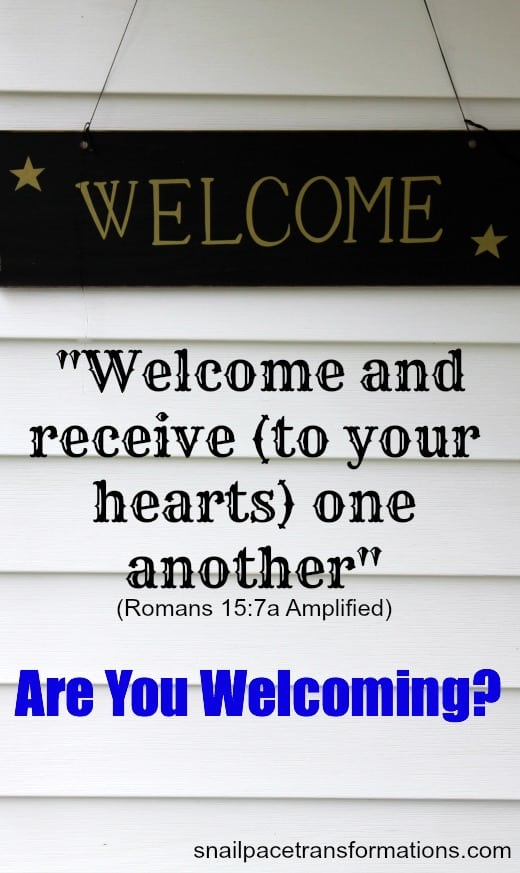 Are You Welcoming