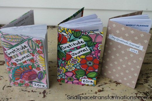 all three gratitude journals