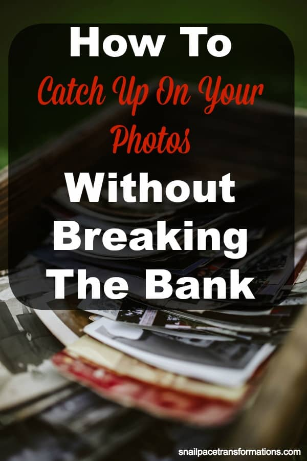 Behind in printing photos? This list of 10 tips will help you catch up on photos without breaking the bank. Great saving money tips for photo books and prints. #phototips #savingmoney