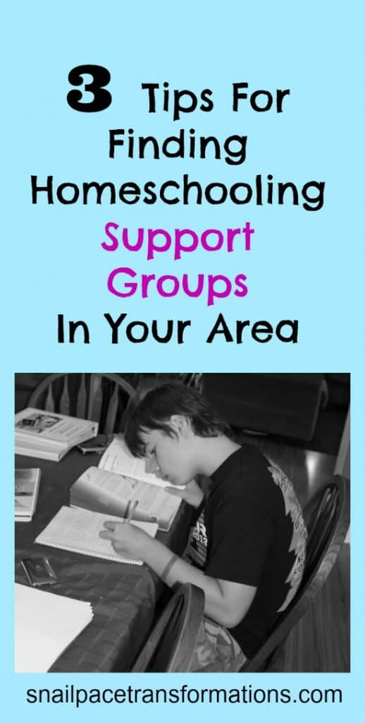 3 tips for finding homeschooling support groups in your area