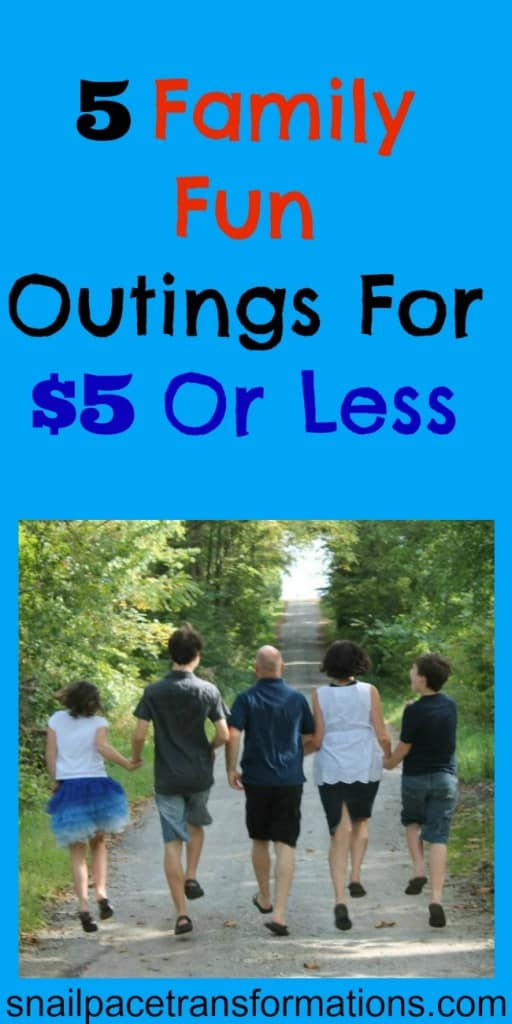 5 family fun outings for $5 or less