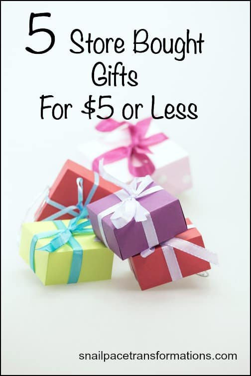 5 store bought gifts that make great christmas gifts for five dollars or less - Christmas Gifts Under 5 Dollars