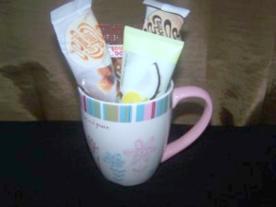 mug full of samples