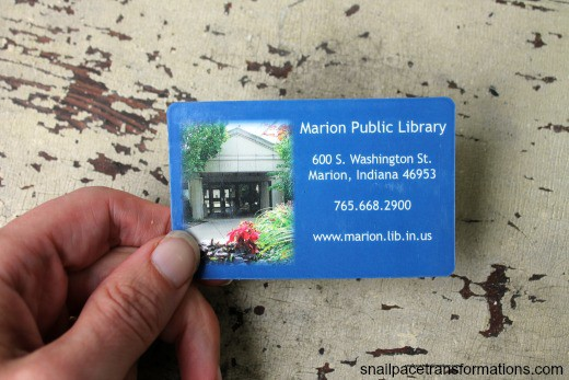 my library card