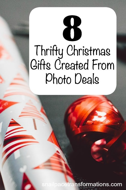 8 thrifty Christmas gifts created from photo deals