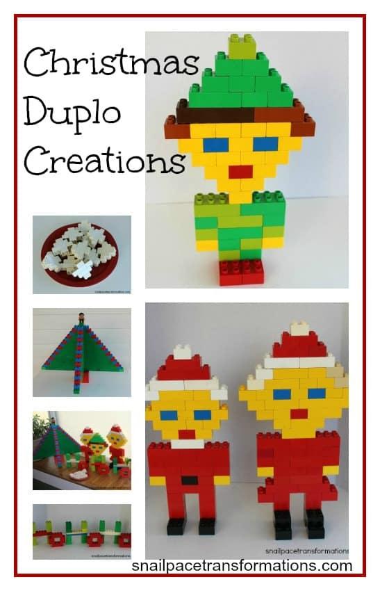 Christmas Duplo Creations