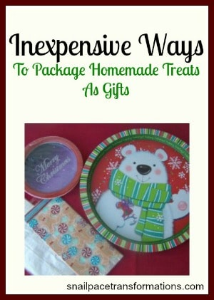 Inexpensive ways to pakage homemade treats as gifts (small)
