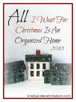 all I want for christmas is an organized home (small)