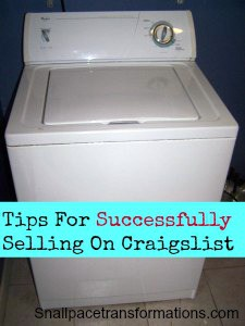 tips for Successfully selling on Craigslist