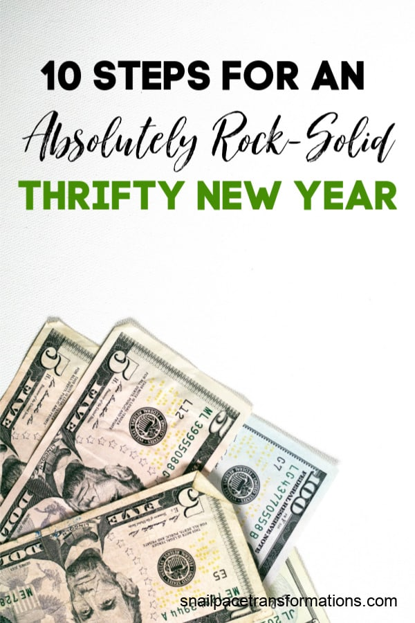 10 Steps For An Absolutely Rock-Solid Thrifty New Year