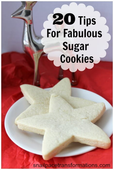 20 tips for fabulous sugar cookies