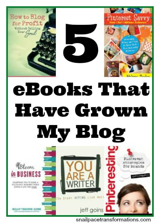 5 ebooks that have grown my blog