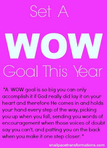 set a wow goal (small)