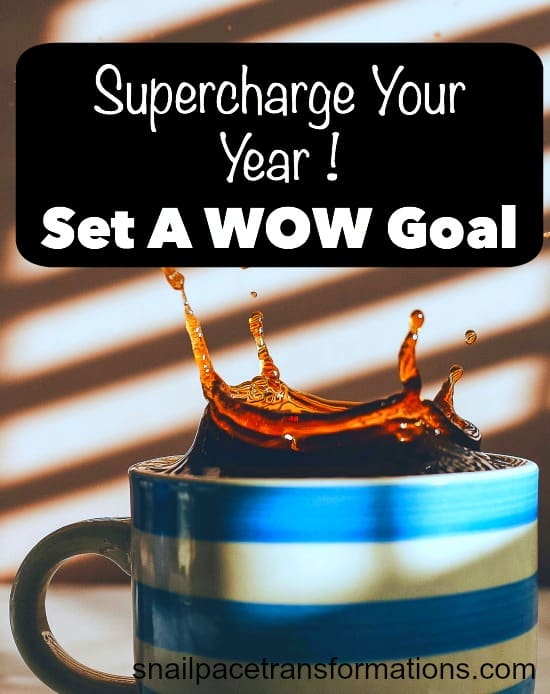 supercharge your year Set a WOW goal.