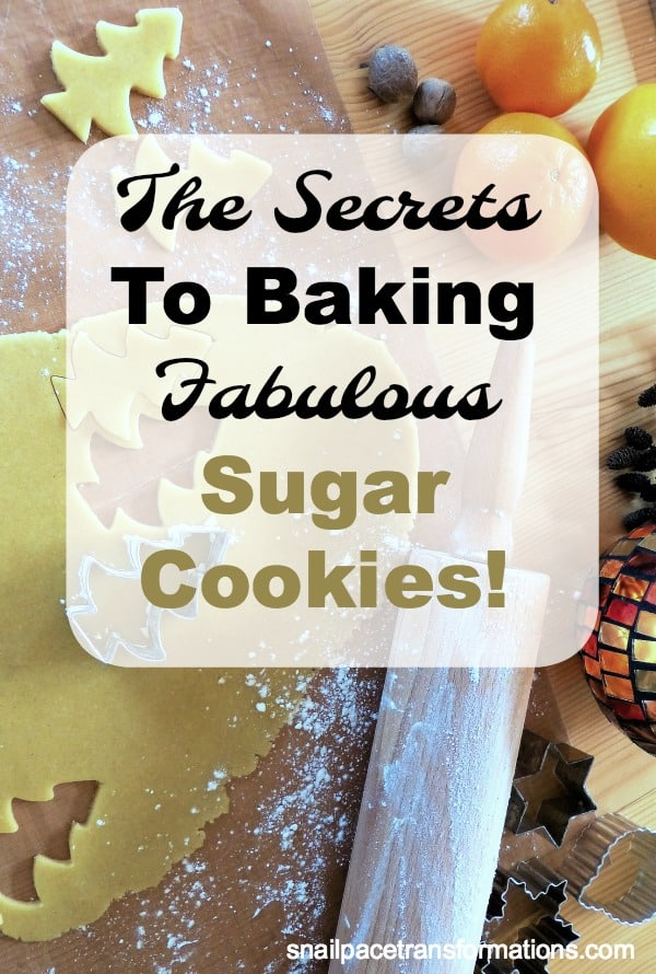 Bake incredible sugar cookies this holiday season with these tips. #Christmas #holidays