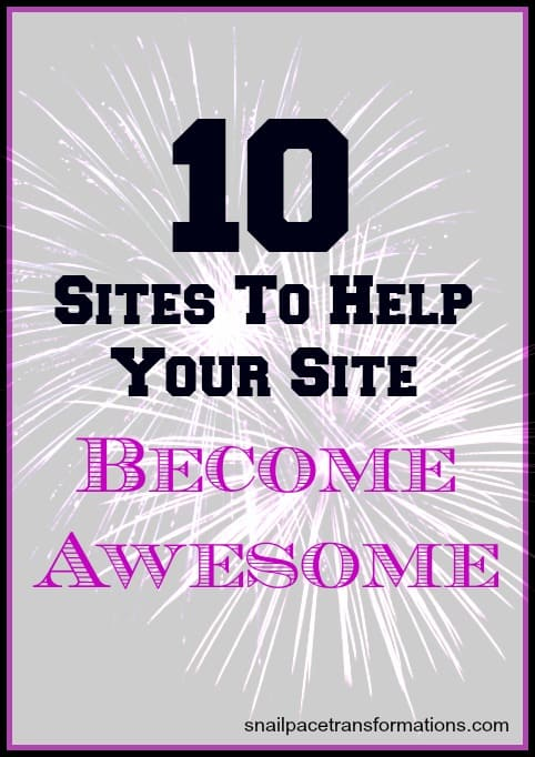 10 sites to help your site become awesome