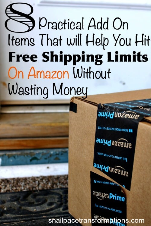 8 practical add on items that will help your hit free shipping limits on Amazon without wasting money