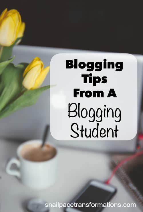 Blogging tips from a blogger now earning a full time income at home.