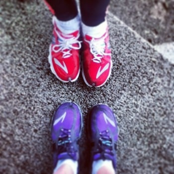 mine and c's shoes