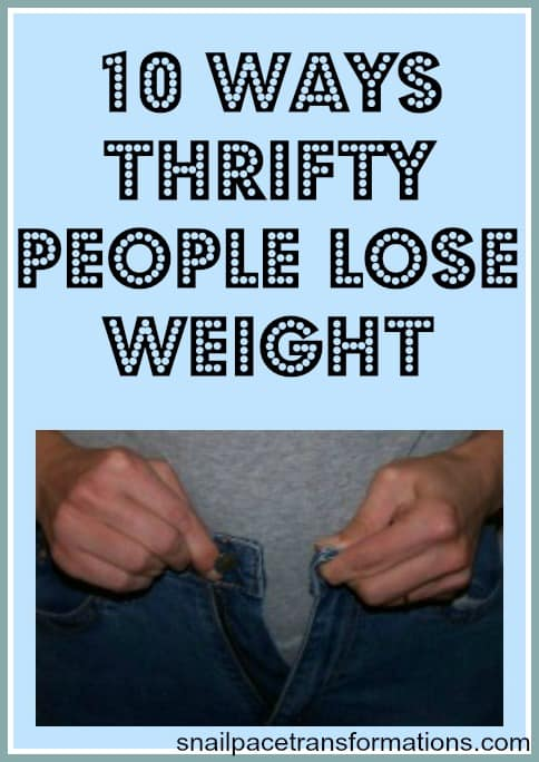 weight loss the thrifty way