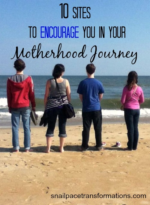 10 sites to encourage you in your motherhood journey
