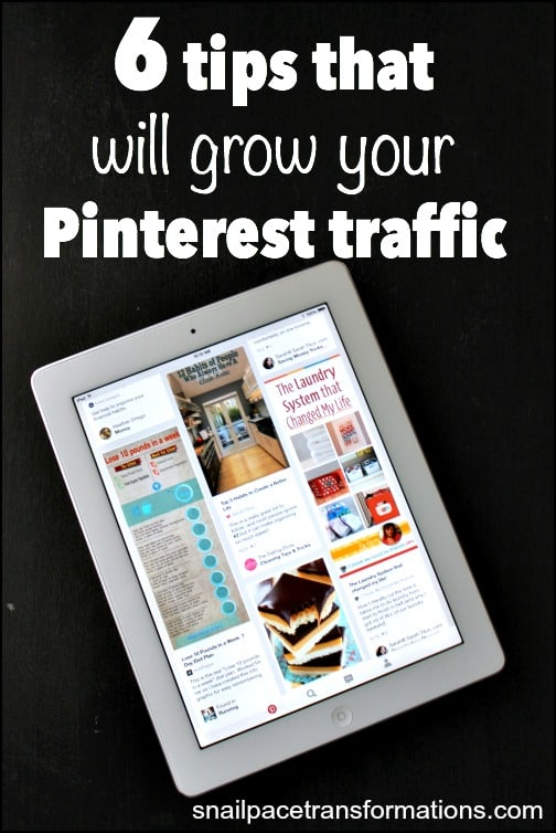6 tips that will grow your blog's Pinterest traffic.