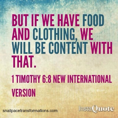 contentment 1 timothy 68