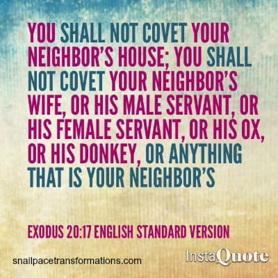 coveting exodus 2017