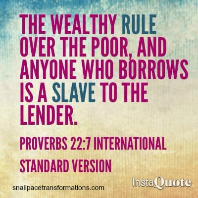 debt proverbs 227