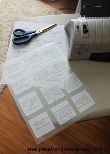 preparing verses