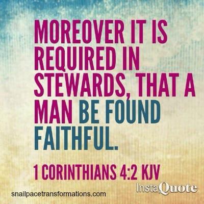stewardship 1 corninthians 42