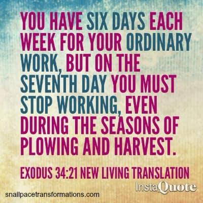 verse on rest