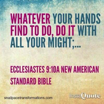 workethic ecclesiastes 910A