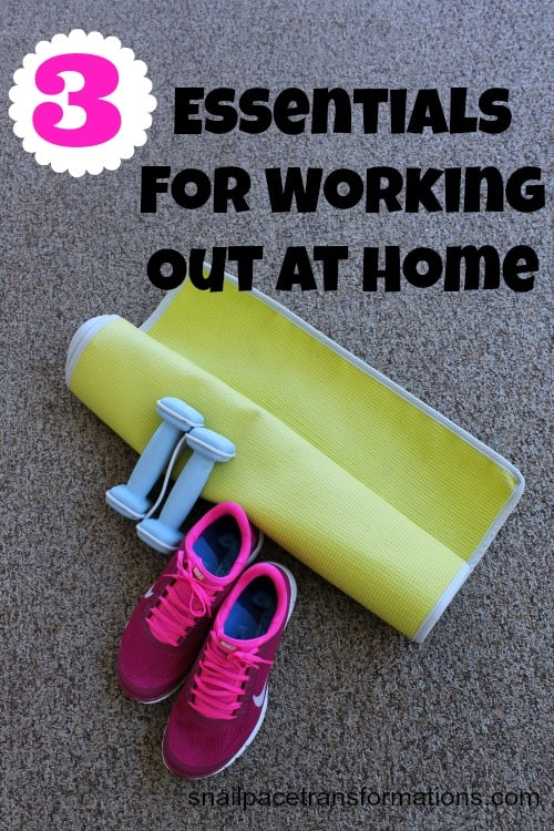 3 essentials for working out at home
