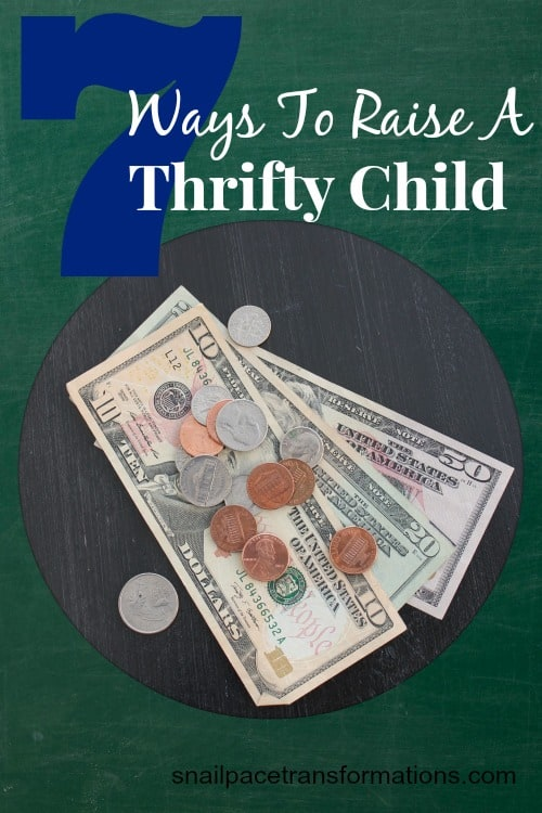 7 ways to raise a thrifty child