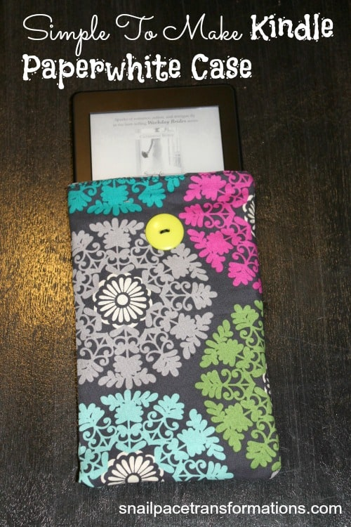 simple to make kindle paperwhite case