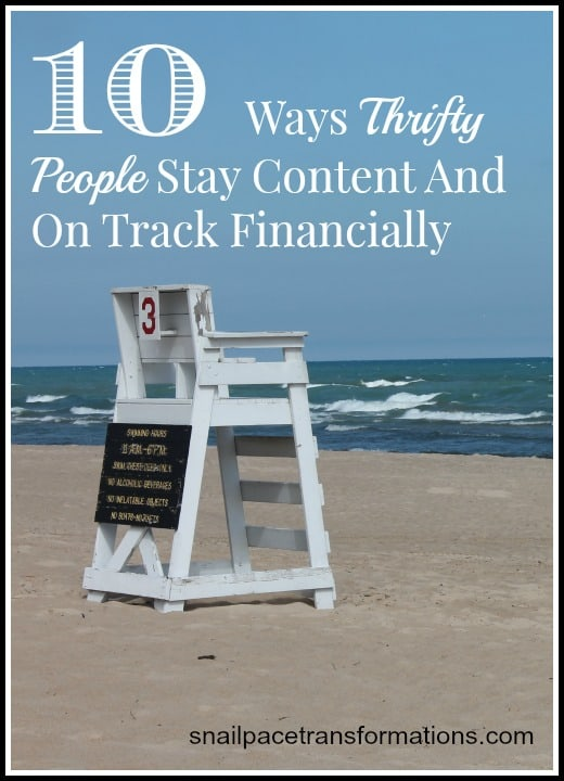 10 ways thrifty people stay content and on track financially