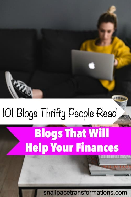 Learn how to save money, get control of your finances and manage your budget with help from the blogs on this list.