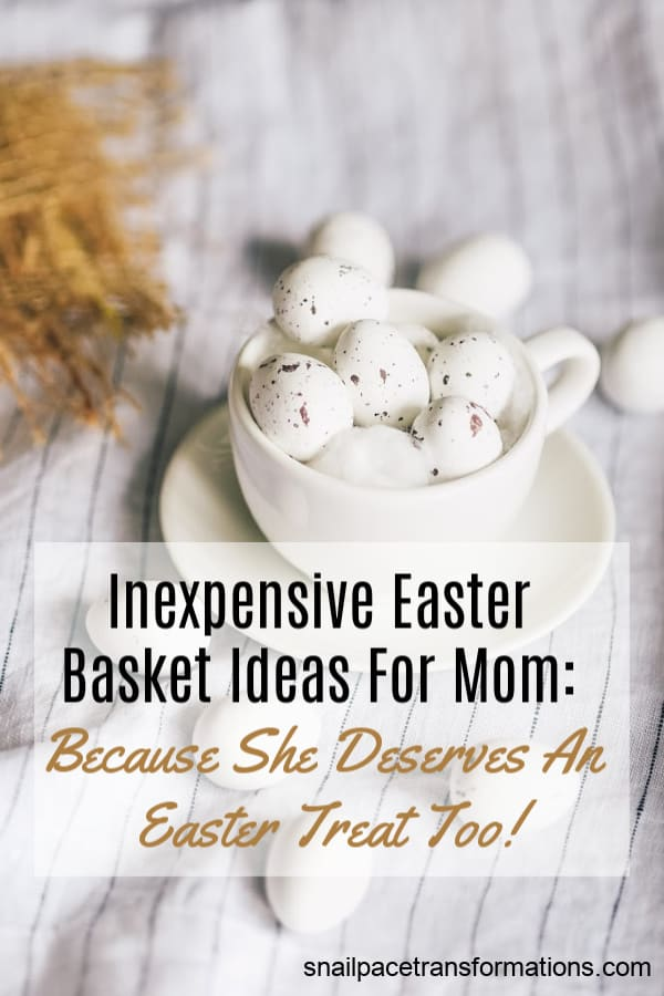 Easter Basket Gift Ideas For Mom: #easter #giftideas #giftideasformom