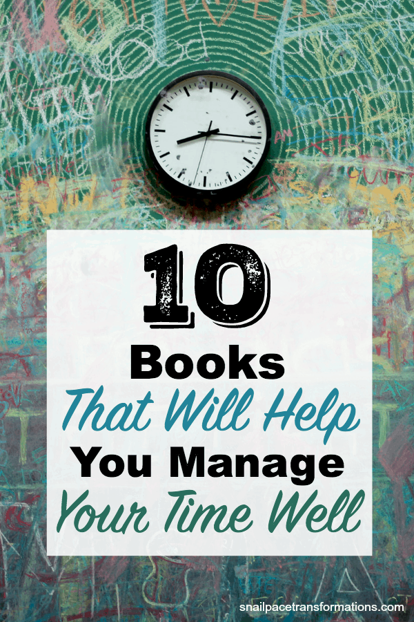 10 Books That Will Help You Manage Your Time Well. #timemanagement #bookworm