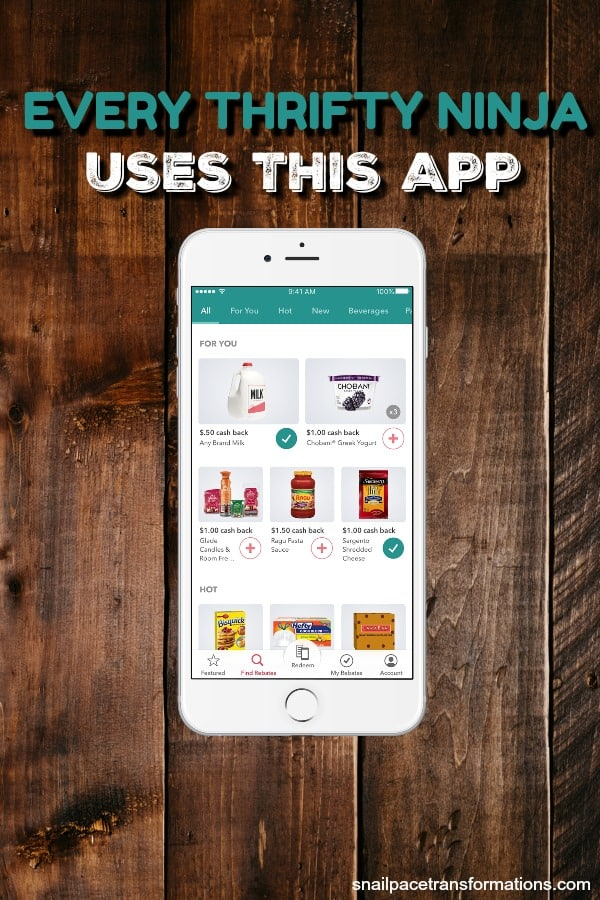Use this app to save money on in-store and online purchases. #savemoney #moneytips