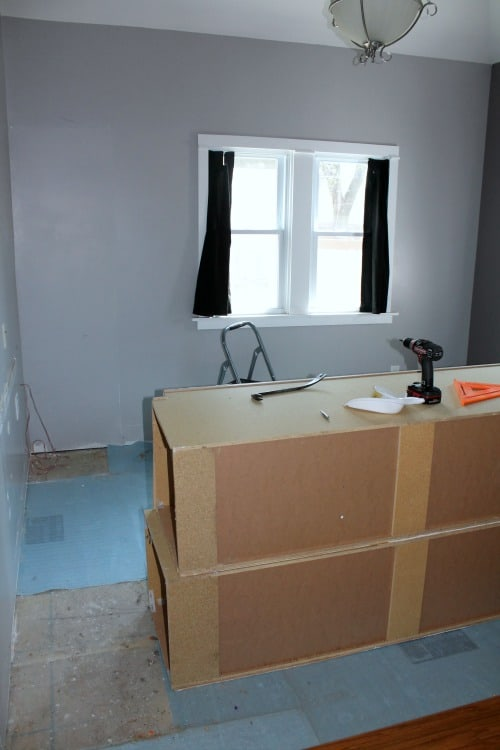 t's new room started