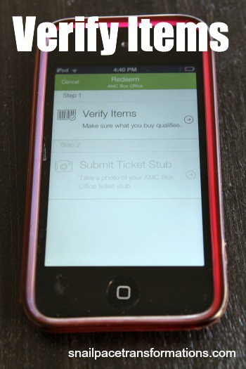 verify items
