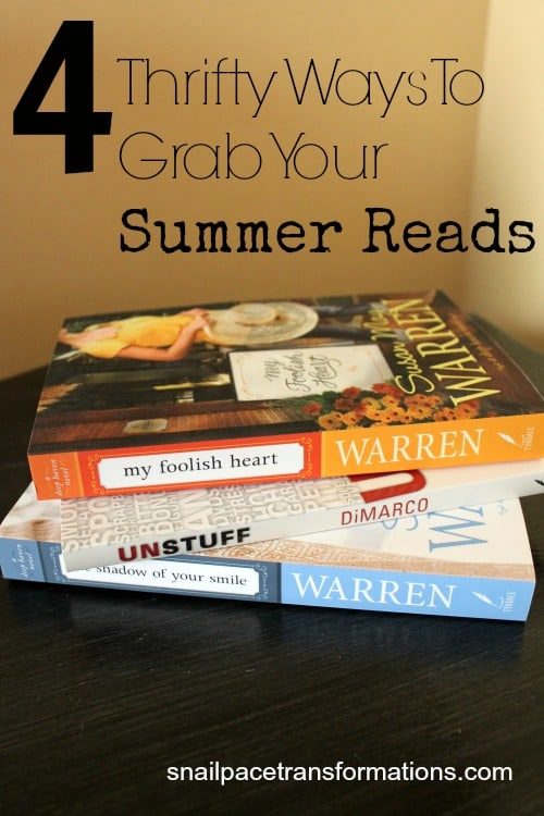 4 thrifty ways to grab your summer reads
