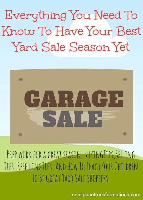 Everything you need to know to have your best yard sale season yet